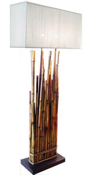 Bamboo Floor Lamp - Buy Floor Lamp Product on Alibaba.com