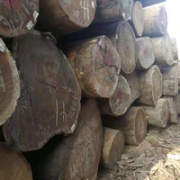 High Quality Grade and Black Color ebony rosewood / tali logs for sale