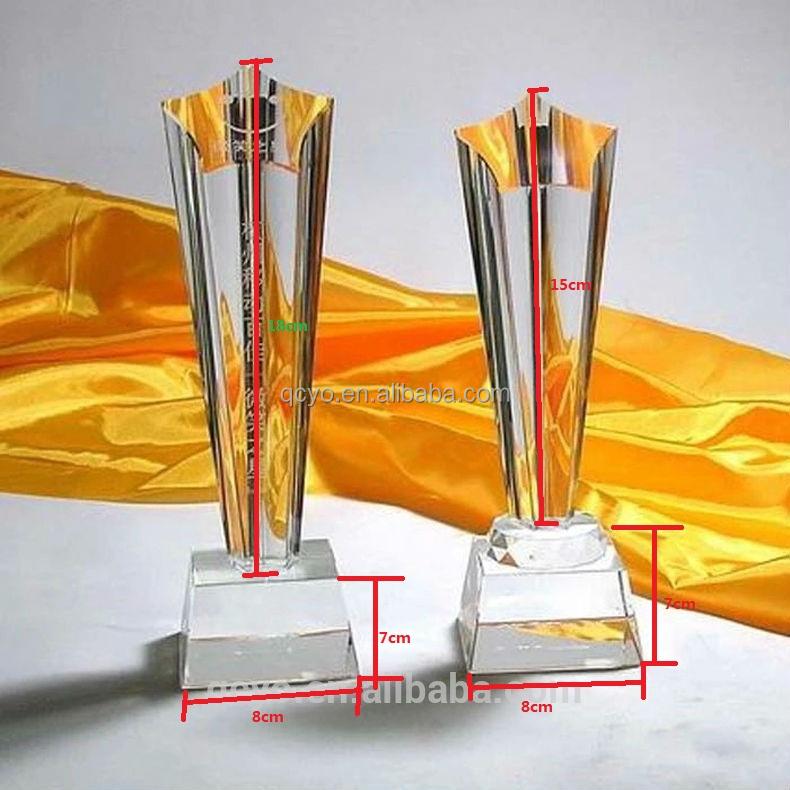 Wholesale customized acrylic imitation medal trophy