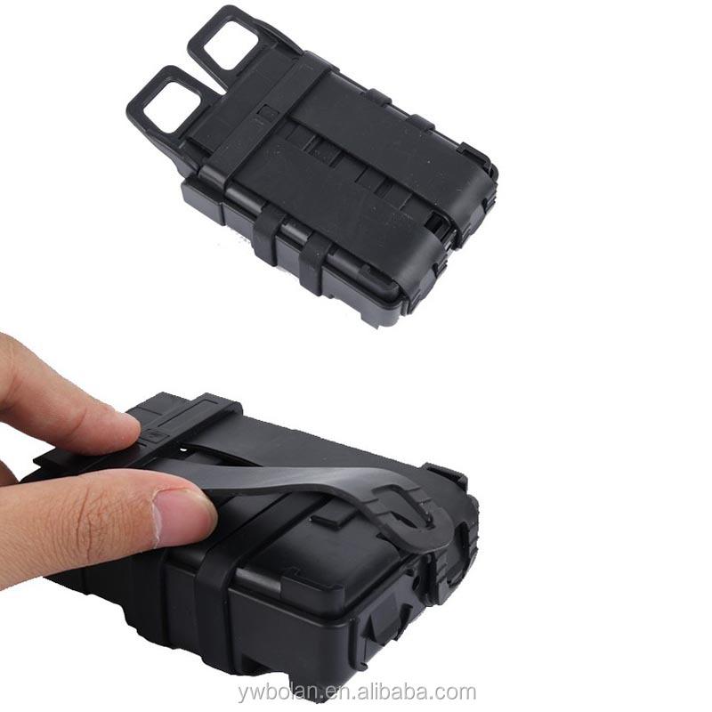 Tactical FastMag 5.56 millimetri sacchetti di Riviste esercito Militare Molle Sistema della Clip Modulo Combinazione di Due Magazine Pouch per M4