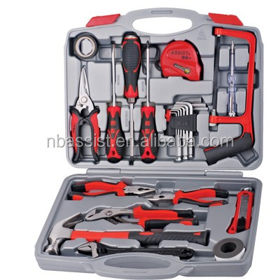 Made in china hand tools supplier with 25pcs box tool set home tools
