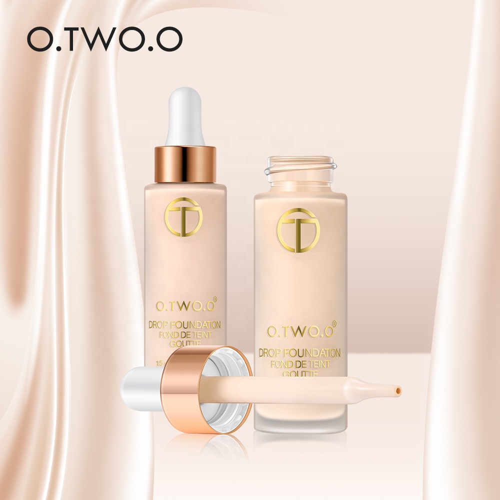 O. TWEE. O Make Up Cosmetica Matte Vloeibare Foundation Make-Up Gezicht Base Concealer Primer BB Cream 15 ml