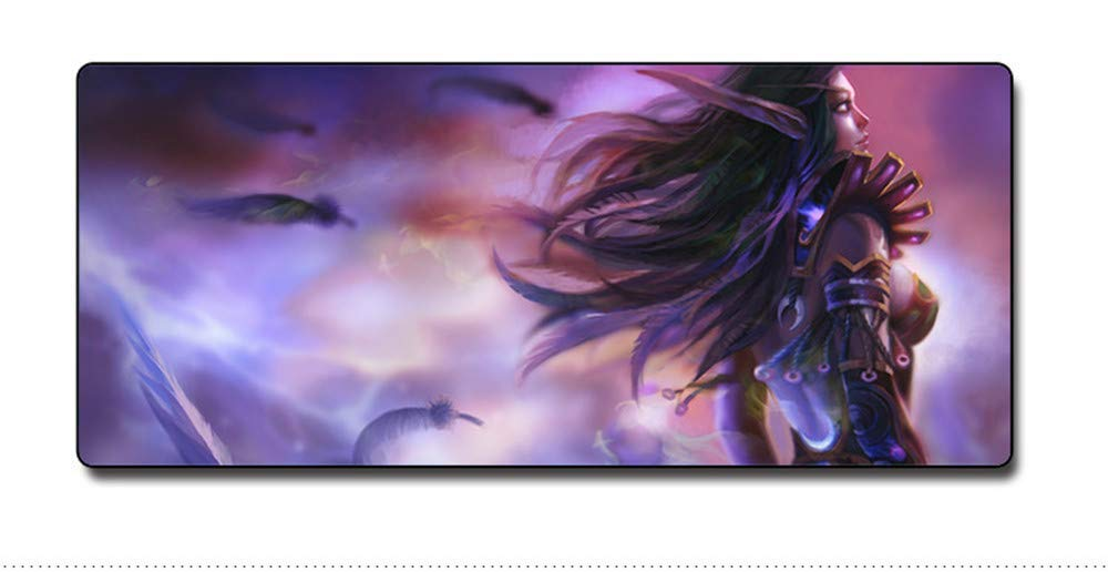 Mouse Pad,Professional Large Gaming Mouse Pad, World of Warcraft Mouse Pad,Extended Size Desk Mat Non-Slip Rubber Mouse Mat(2, 700 x 300 x3 mm / 27.6 x 11.8 x 0.12 inch)