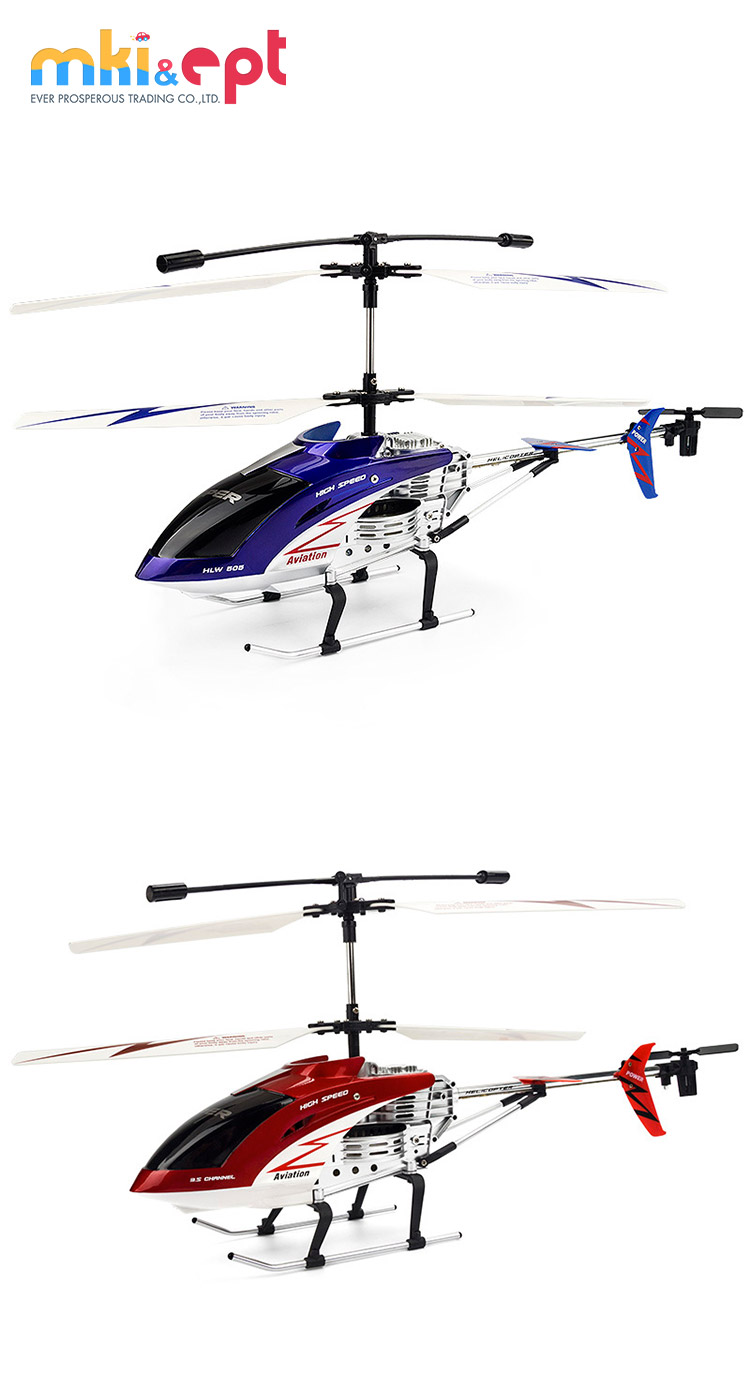 2018 Hot selling 3.5 Channel Ready to Fly Helicopter toys with Battery