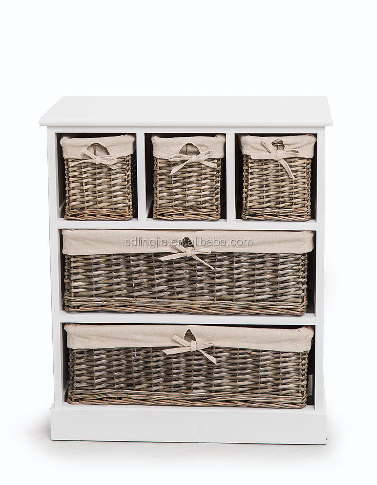 Bathroom Wicker Craft Paulownia Unfinished Small Wooden Drawers Product