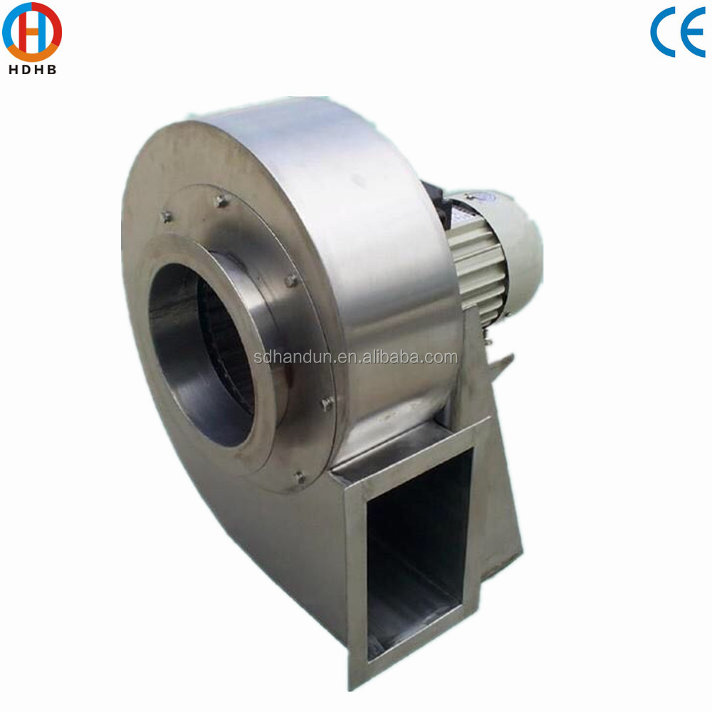 Model 9-26 3000CFM Stainless Steel High Pressure Centrifugal Blower Fan