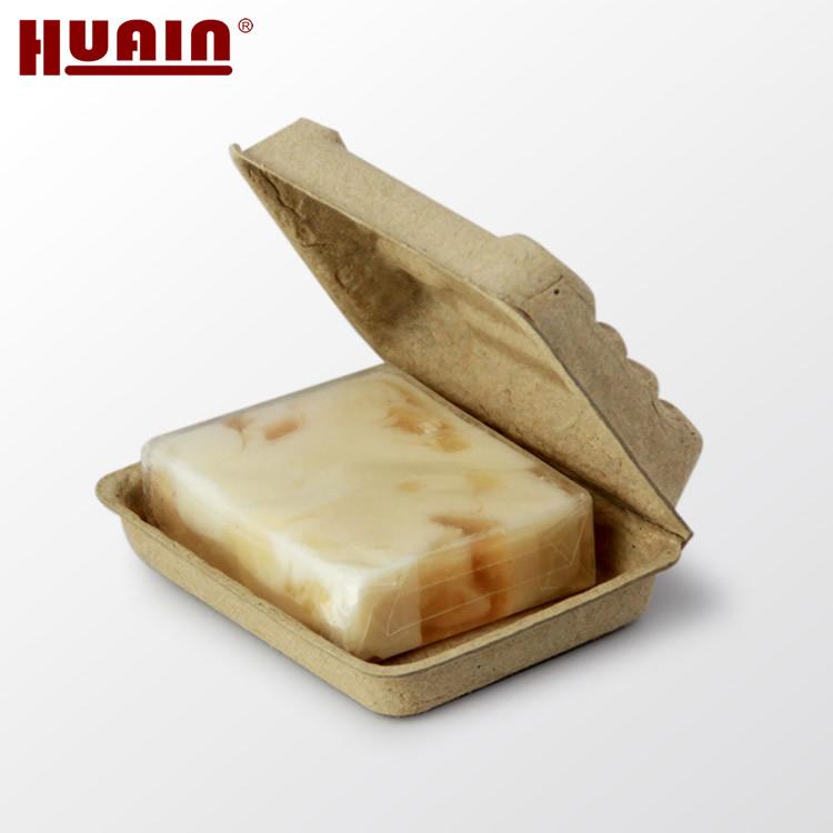 Waterproof Molded Paper Pulp Packaging For Handmade Soap