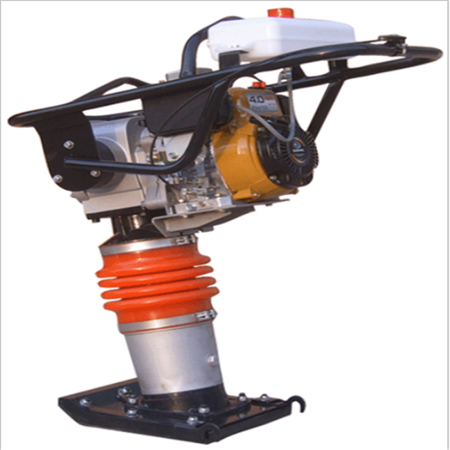 Gasoline power earth sand soil wacker impact jumping jack compactor tamper vibrating tamping rammer