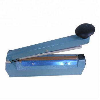 6b7117d62 Mano impulso Sellador 300mm bolsa de plástico sellador de la máquina de  sellado película