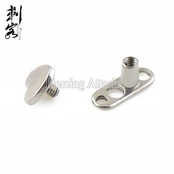 Astm F136 Implant Grade Titanium Heart Custom Dermal Anchor Jewelry View Custom Dermal Anchor Jewelry Ekoo Jewelry Product Details From Yiwu