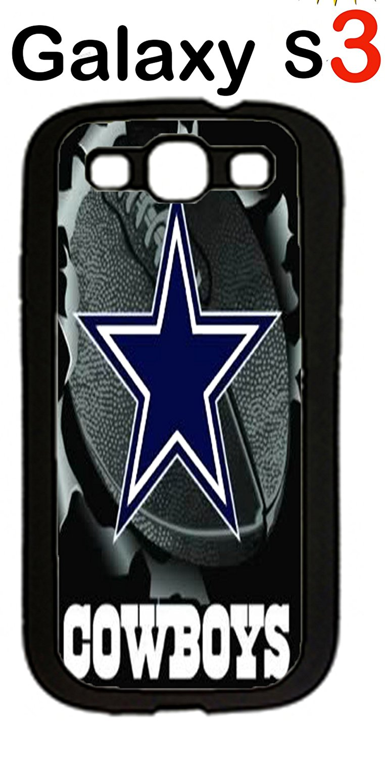 83e8aa696c1ac0 Get Quotations · NFL Dallas Cowboys Case for Samsung Galaxy S3 Case  Silicone Case