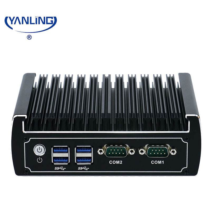China cheap fanless mini pc with I5 process support win7/8/10 and 6 USB3.0 industrial mini computer