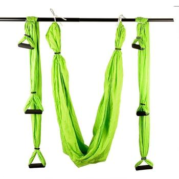 Dropshipping Aliexpress Shopify Hot-selling Gym fitness aerial yoga swing hammock Yoga Inversion Exercises Aerial Yoga Swing