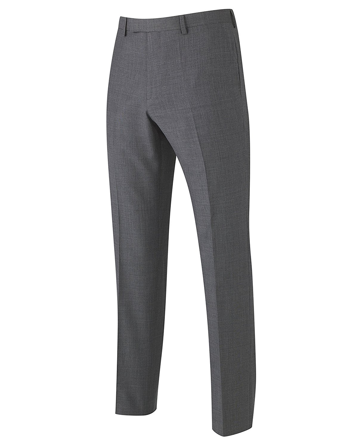 WSPLYSPJY Mens Stripe Tailored-Fit Plain-Front Suit-Separate Pant