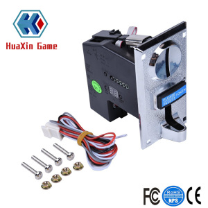 Electronic pc coin acceptor with timer controller Game machine multi coin selector for game machine