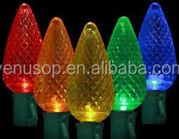 led christmas light c9 led light bulb use in entertainment led c9 light string