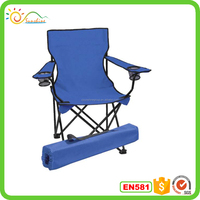 Folding portable rocking metal beach chair cup holder for beach chair lightweight easy carry travel beach chair