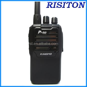Kingpo P Talkiewalkie Longue Portée Talkie Walkie Uhf À Deux - Talkie walkie longue portée