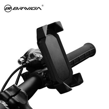 Bike Mount Mobile Phone Holder, 360 Degree Universal Cell Phone Holder for Bicycle Bike