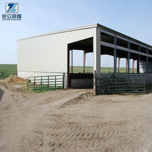 YILI Prefabricated Horse Barns Design Steel building ,steel Structure Cow Farm Buildings