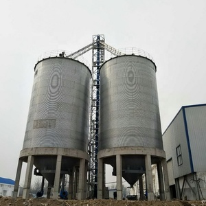 500 tons capacities maize vertical steel storage tank silos prices
