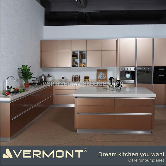 2017 nieuwe model moderne keuken kasten pantry kasten ontwerpen keuken kasten product id - Model keuken ...