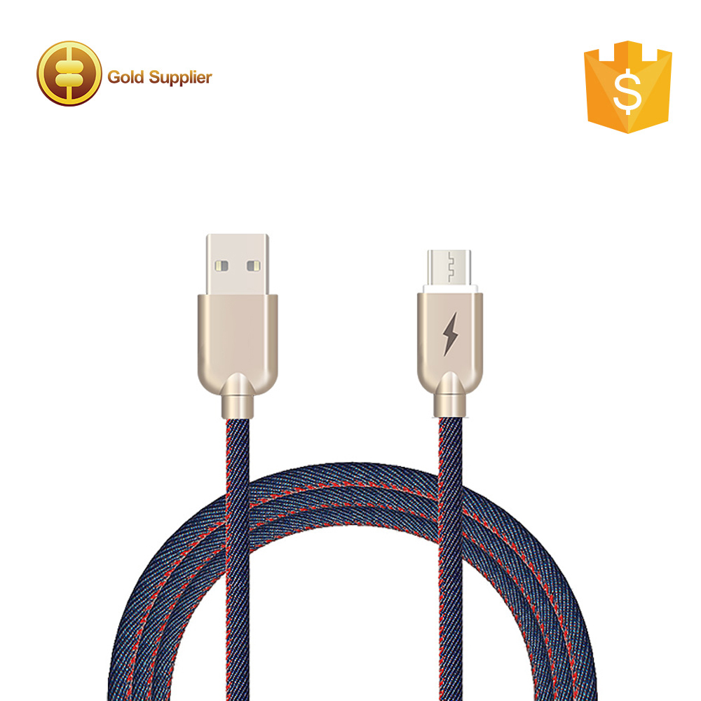 Colorful fast charging usb to micro usb cable