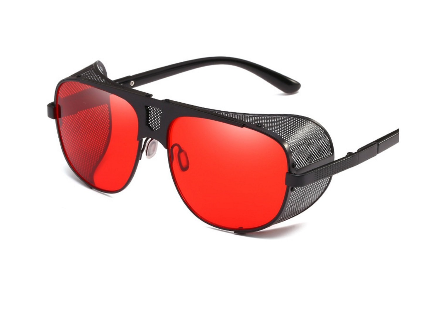 d3aaf49537e Retro inspired style! Get Quotations · HDWY Europe and the United States  popular new trend sunglasses fashion thick edge windshield sunglasses  personality