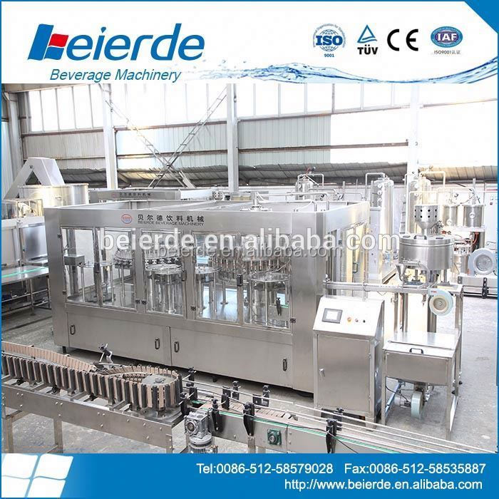 [beierde] automatic easy open aluminum beverage processing plant