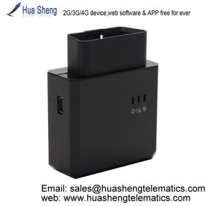 china OBD car gps [2G, 3G, 4G, OBD] for fleet management & insurance telematics