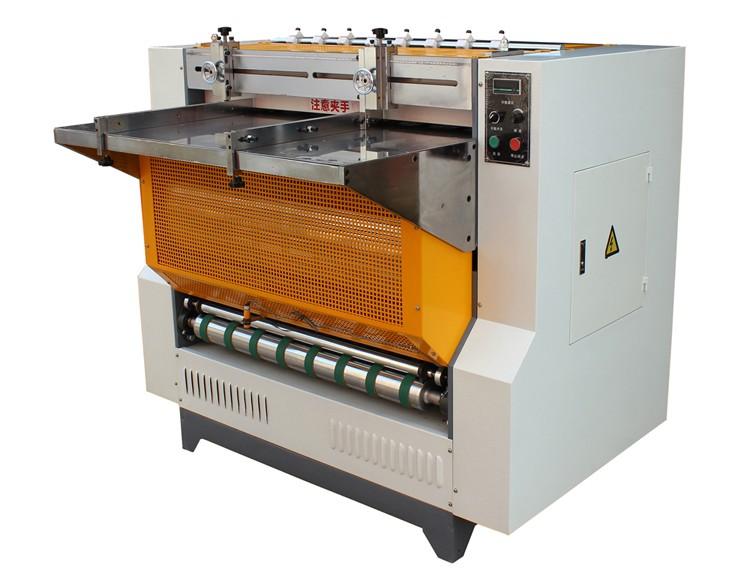 Máquina de ranhuras em forma de v de placa, MSKC-1200M semi-automática