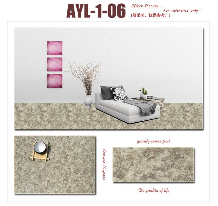 Pas cher vinyle stratifi tanche con u pvc en plastique plancher rev tement - Plancher stratifie pas cher ...