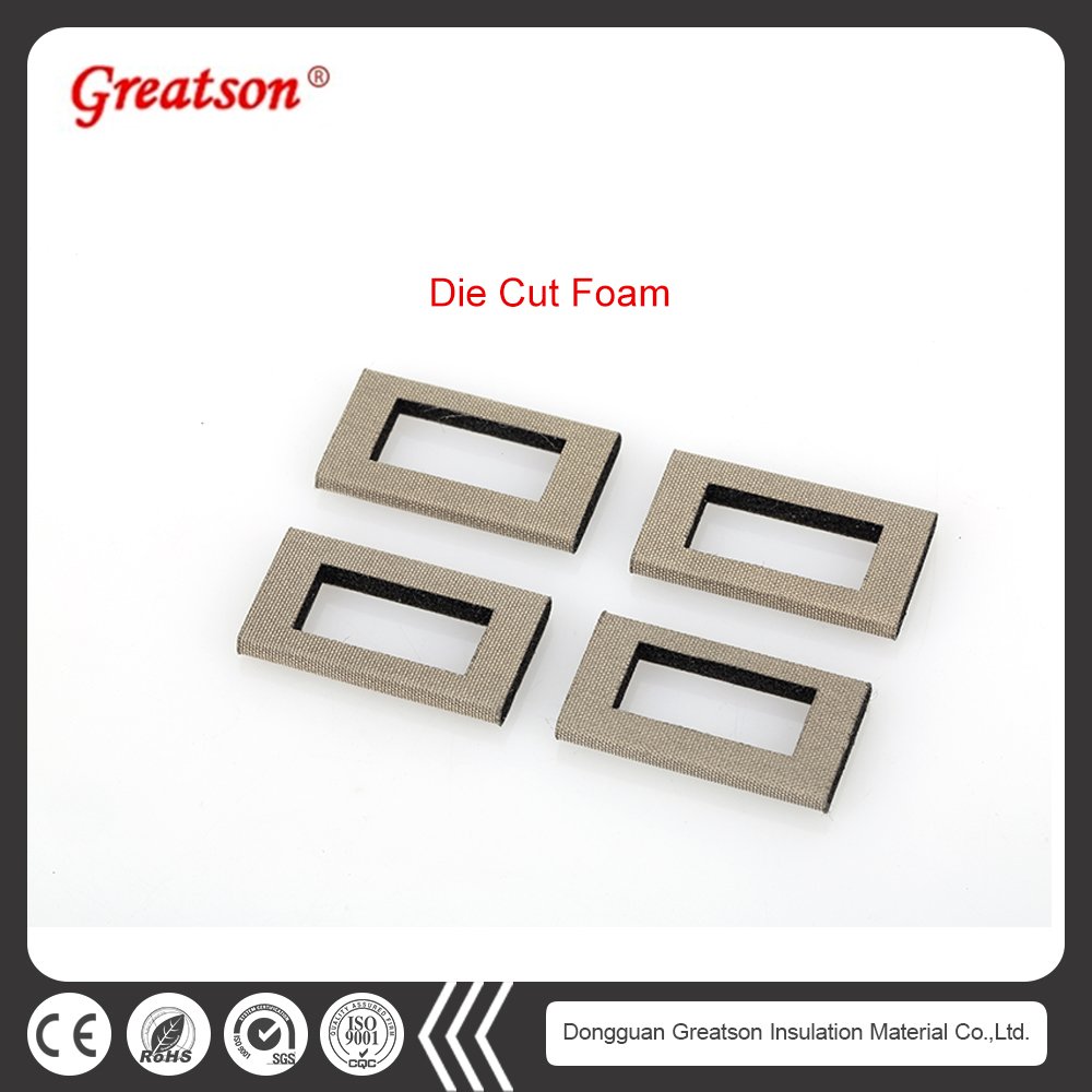Customized corrosion resistance die cut conductive foam sheet