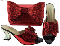 African Shoes And Bags To Match Stock Wedding Women Shoes