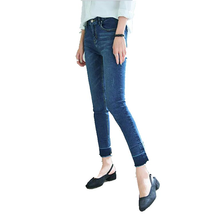 Ingenious 2016 High Waist Skinny Elastic Women Long Slim Pencil Jeans Europe America Personality Sexy Butt Push Up Trousers Women Jeans Jeans Women's Clothing