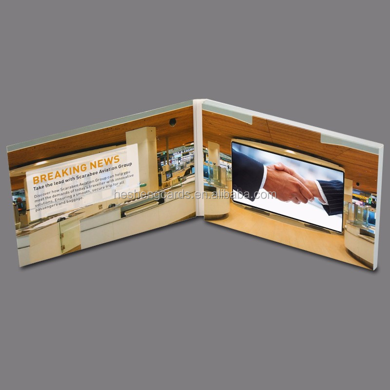 Wholesale Video Greeting Card sound module, Laser Cut Wedding Invitation Card 2017, Video Card