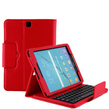 Ultra Dunne PU Lederen Cover Blue Tooth <span class=keywords><strong>Toetsenbord</strong></span> Case voor Samsung Galaxy Tab Een SM-T580N 10.1 inch