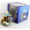 "Les Aventures De Tintin Explorers on The Moon 3.9"" Blue Toy Action figure"