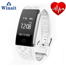 Wholesale Heart Rate Wireless BT Smart Bracelet Wrist Band GPS Call Reminder Health Tracker For Android/IOS