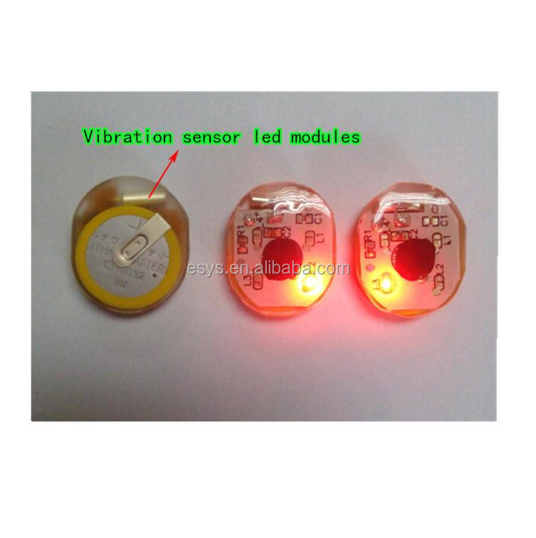 led flash module for shoes and toys