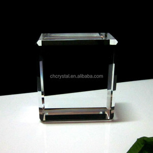 glass block paperweight blank MH-TF0112