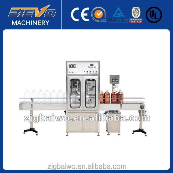 Automatic olive oil filling prodution line