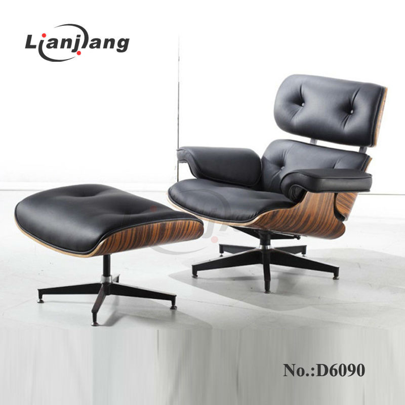 Cheap charles lounge chair e otomano atacado