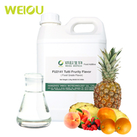 Fruit fragrance FU2141 Tutti Fruity flavor Food Liquid Flavor Oil/Water Soluble fruit flavor