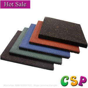 Superior Quality outdoor rubber recycled plastic pavers