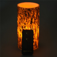 Customed Luxury Brand birch bark crafts gift candle