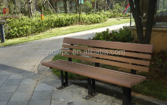 2015 new style WPC chair Leisure bench