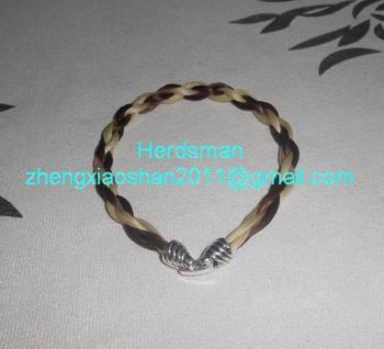 Natural Horse Hair Bracelets Jewelry Earring Necklace Bangle Ture Bracelet