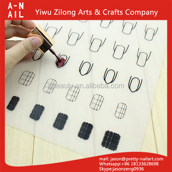 High quality customized size nail stamping mat with factory wholesale price silicone nail polish pad