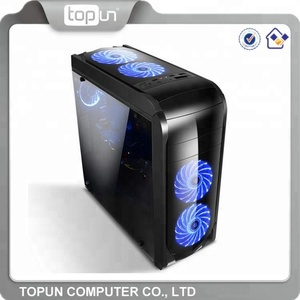 Fancy led fan atx custom high quality gaming computer case/cheap pc case gaming computer accessories guangzhou wholesale